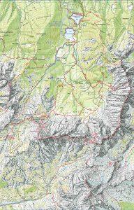 Belopeska j.-Mangart_zemljevid